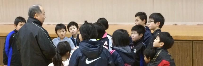 2015県小学生団体戦の様子